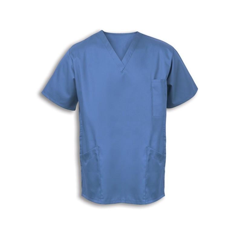 Smart Scrub Tunic (Hospital Blue) - UT404