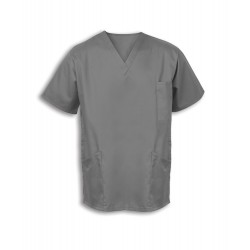 Smart Scrub Tunic (Hospital Grey) - UT404