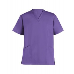 Smart Scrub Tunic (Purple) - UT404