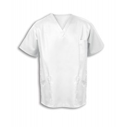 Smart Scrub Tunic (White) - UT404