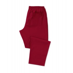 Scrub Trousers (Burgundy) - D398