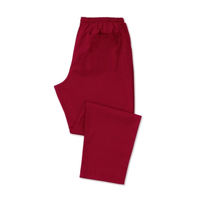 Scrub Trousers (Burgundy) - D398