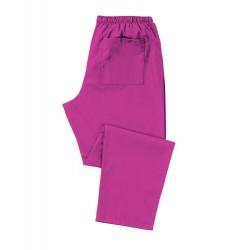 Scrub Trousers (Magenta) - D398