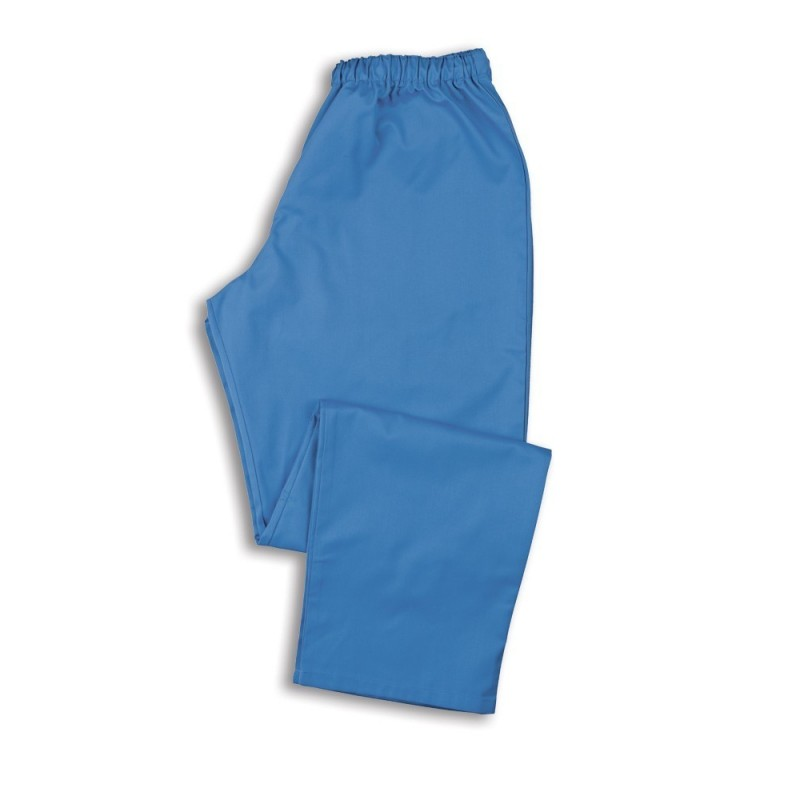 Smart Scrub Trousers (Hospital Blue) - NU165
