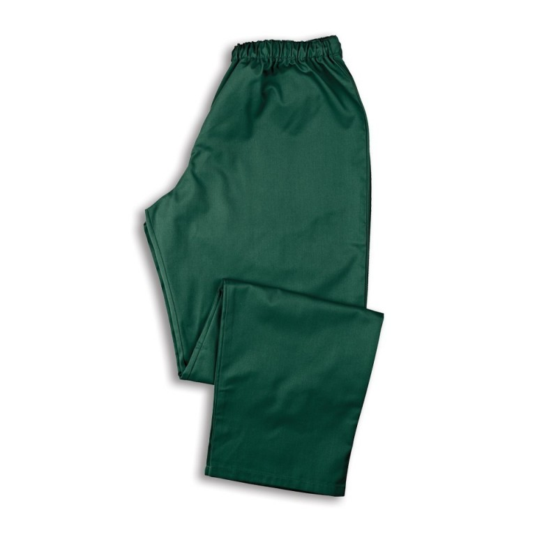 Smart Scrub Trousers (Bottle Green) - NU165