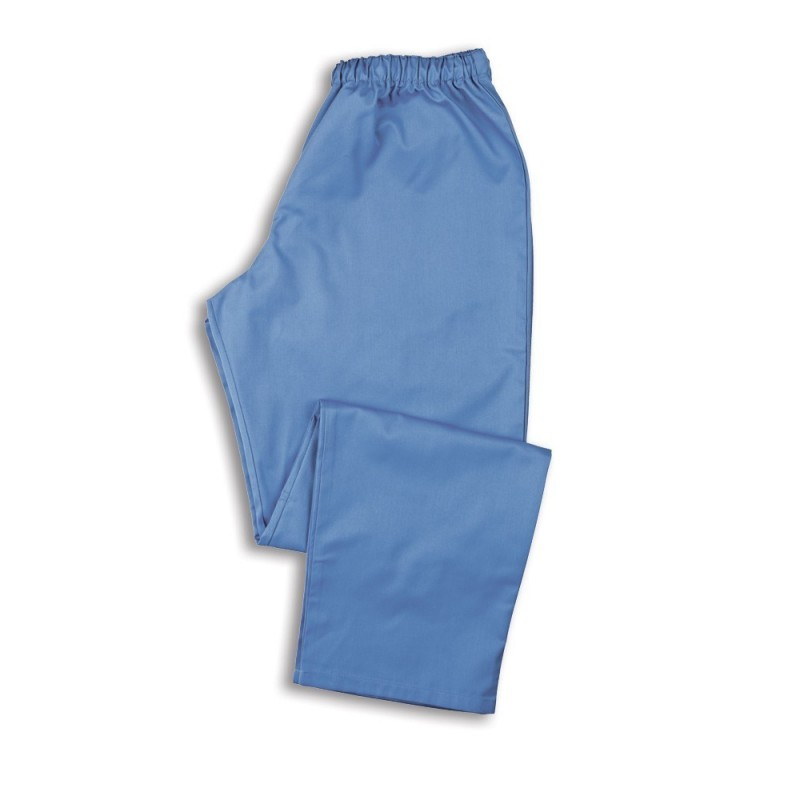 Smart Scrub Trousers (Metro Blue) - NU165
