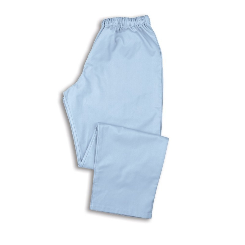 Smart Scrub Trousers (Pale Blue) - NU165