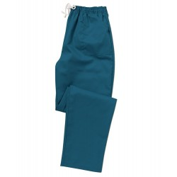 Smart Scrub Trousers (Caribbean Blue) - UB453