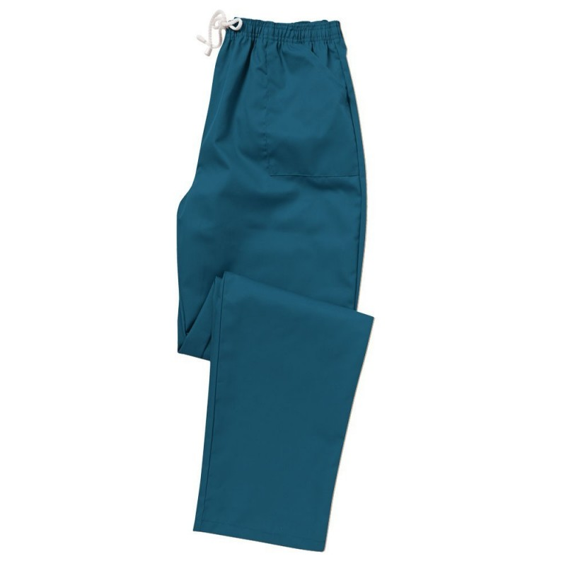 Smart Scrub Trousers (Caribbean Blue) - UB453