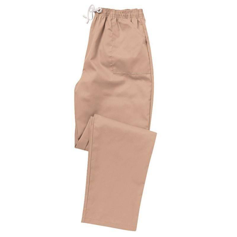 Smart Scrub Trousers (Biscuit) - UB453