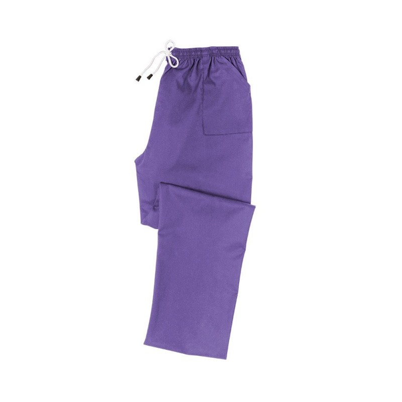 Smart Scrub Trousers (Purple) - UB453