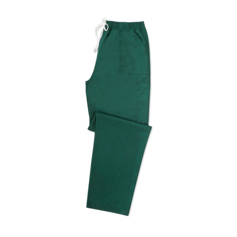 Smart Scrub Cargo Trousers (Bottle Green) UB506