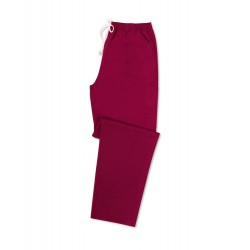 Smart Scrub Cargo Trousers (Maroon) UB506