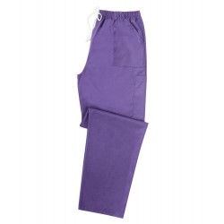Smart Scrub Cargo Trousers (Purple) UB506