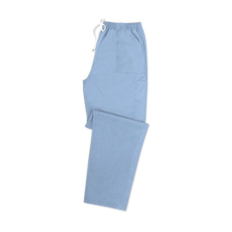 Smart Scrub Cargo Trousers (Sky Blue) UB506