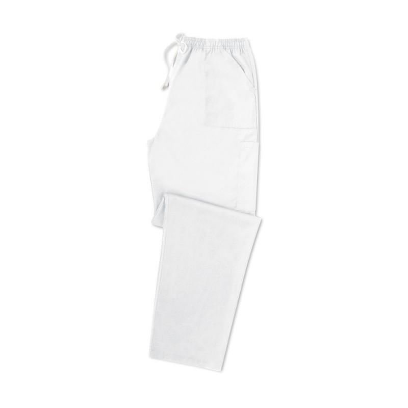 Smart Scrub Cargo Trousers (White) UB506