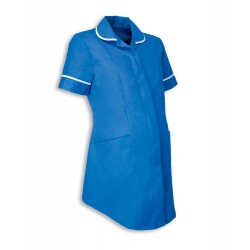 Maternity Tunic (Hospital Blue with White Trim) - NF52