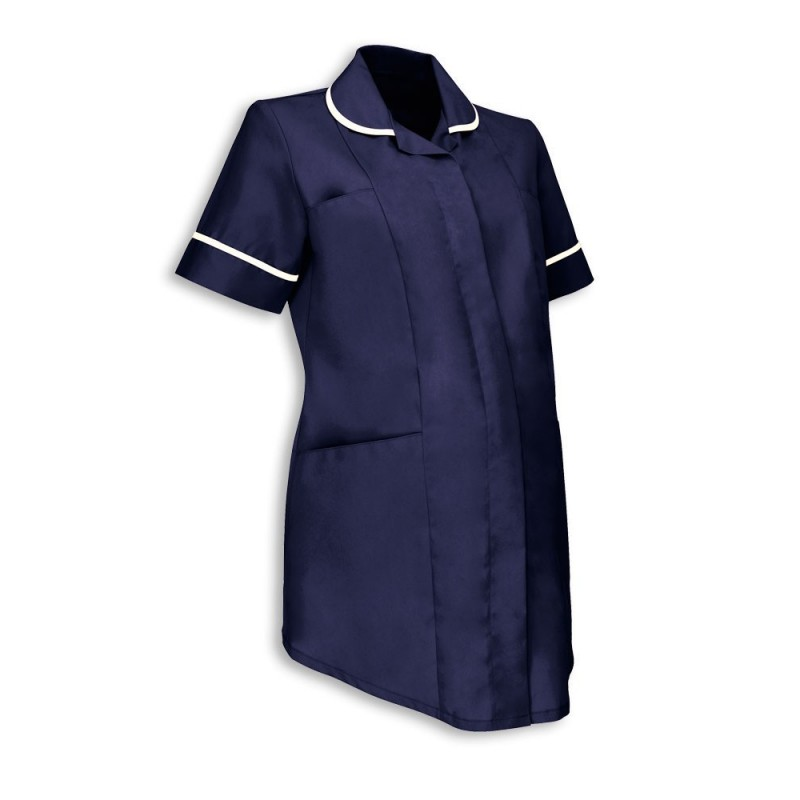 Maternity Tunic (Sailor Navy With White Trim) - NF52