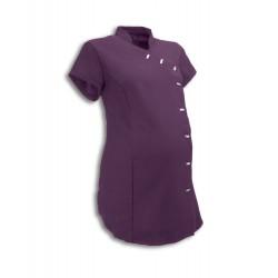 Maternity Asymmetrical Beauty Tunic (Amethyst) - NF30