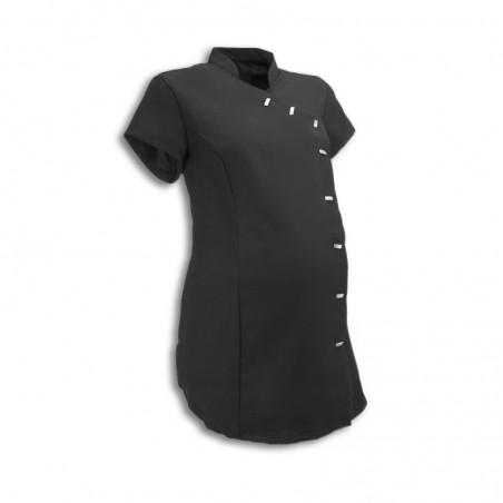 Maternity Asymmetrical Beauty Tunic (Black) - NF30