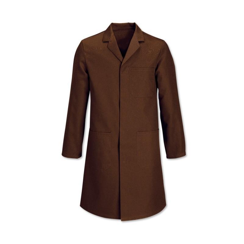 Men's Stud Coat (Brown) - WL1