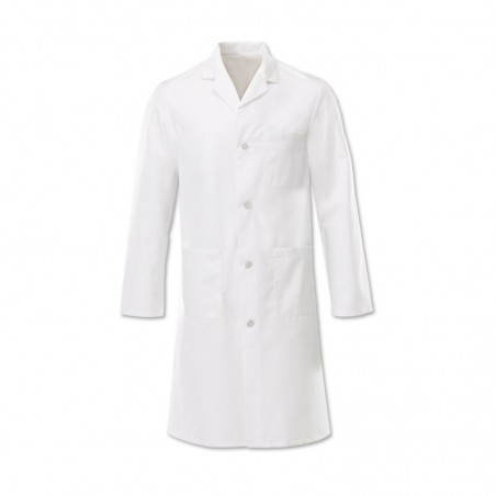 Men's Button Coat (White) - W21