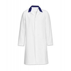 Men's Coat (White/Blue) - FT30