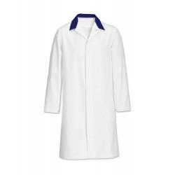 Men's Coat (White/Blue) - FT30