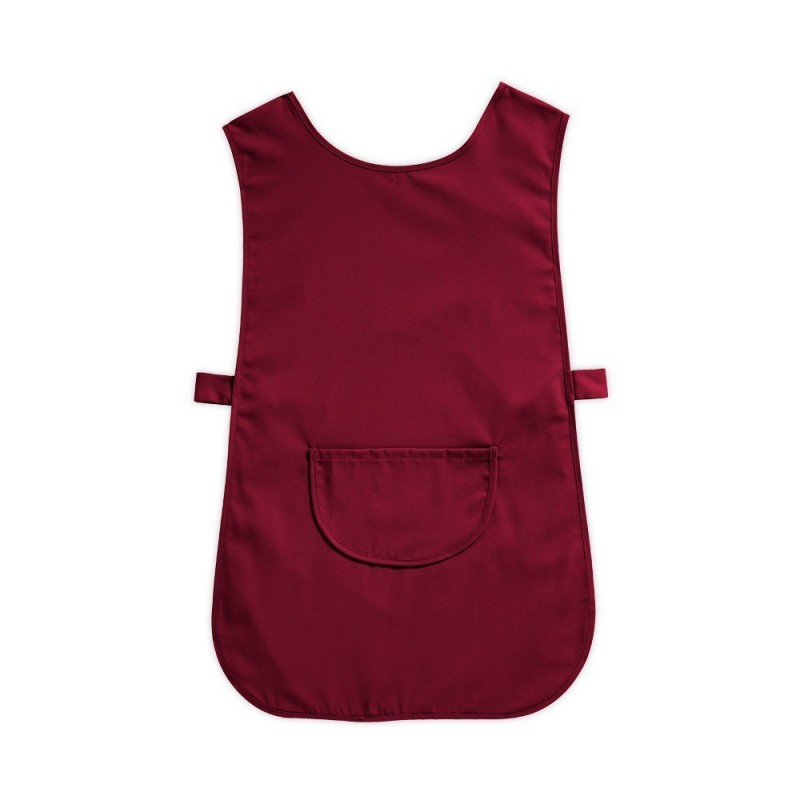Tabard with Pocket (Burgundy Pack of 3) - W112