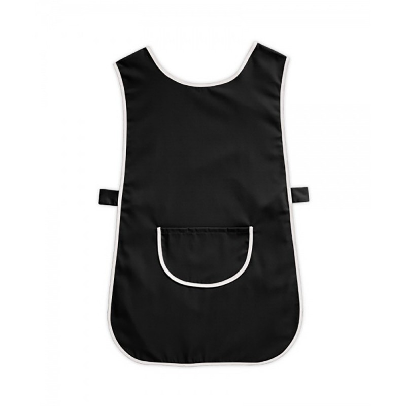 Tabard with Pocket (Black & White Pack of 3) - W112