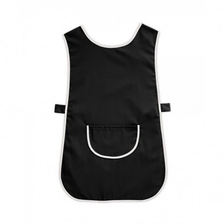 Tabard with Pocket (Black & White Pack of 1) - W112