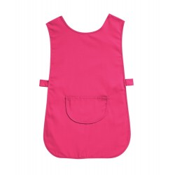Tabard with Pocket (Bright Pink Pack of 3) - W112