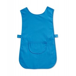 Tabard with Pocket (Hospital Blue Pack of 1) - W112