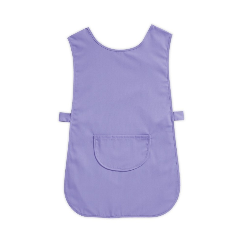 Tabard with Pocket (Lilac Pack of 3) - W112