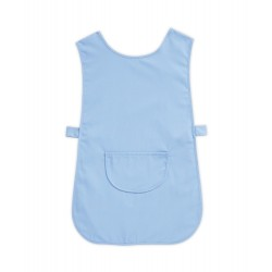 Tabard with Pocket (Pale Blue Pack of 1) - W112