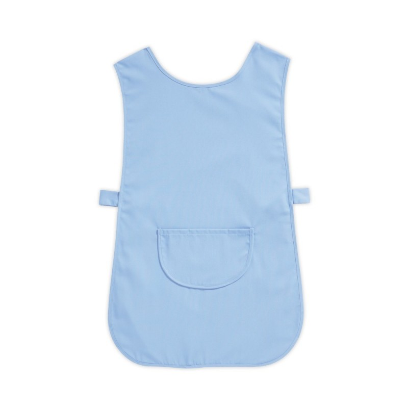 Tabard with Pocket (Pale Blue Pack of 3) - W112