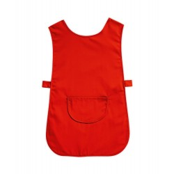 Tabard with Pocket (Red Pack of 3) - W112