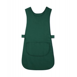 Long Length Tabard with Pocket (Bottle Green Pack of 3) - W193