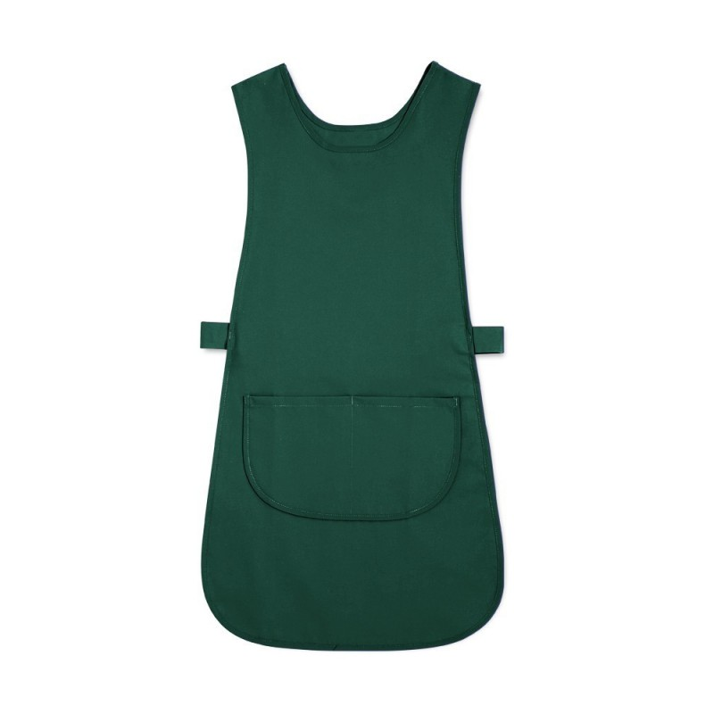 Long Length Tabard with Pocket (Bottle Green Pack of 1) - W193