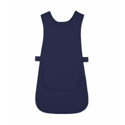 Long Length Tabard with Pocket (Navy Pack of 3) - W193