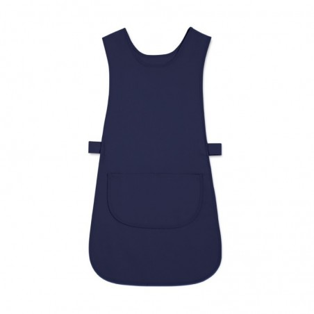 Long Length Tabard with Pocket (Navy Pack of 1) - W193