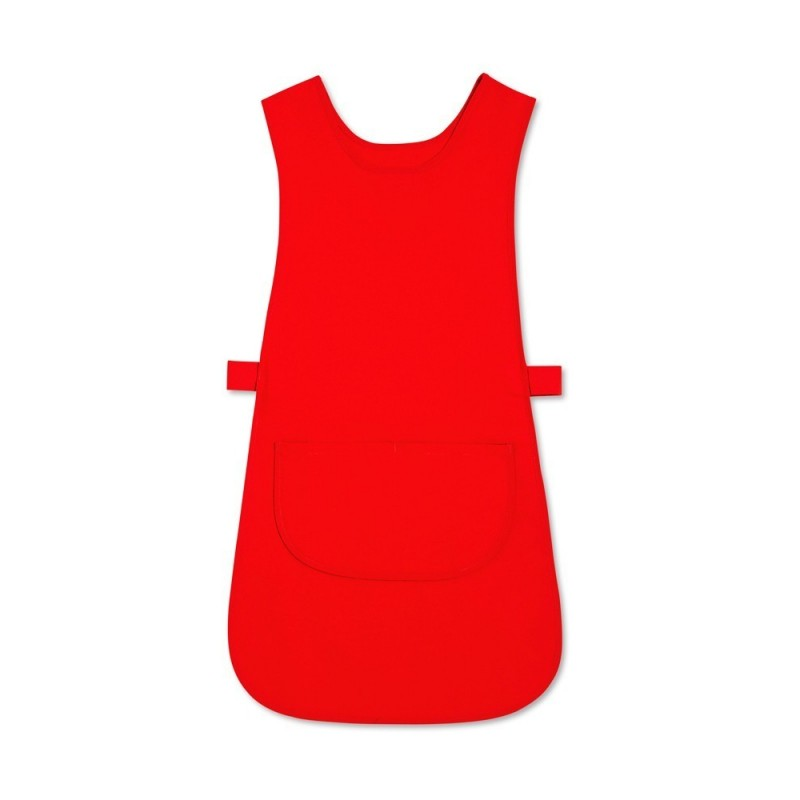 Long Length Tabard with Pocket (Red Pack of 3) - W193