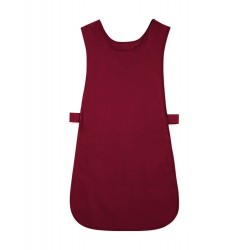 Long Length Tabard (Burgundy Pack of 3) - W192