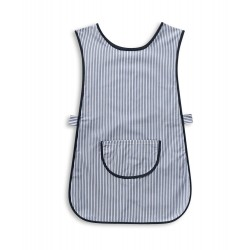 Thin Stripe Tabard with Pocket (Navy & White Pack of 2) - W240