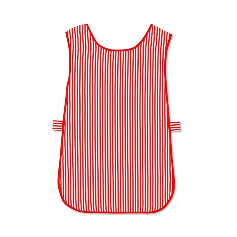 Candy Stripe Tabard (Red & White Pack of 1) - W160