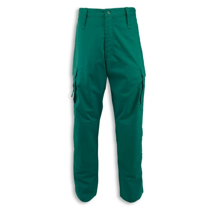 Men's Ambulance Combat Trousers (Bottle Green) NM100