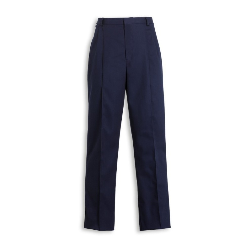 Mens Twin Pleat Trousers (Sailor Navy) MT600