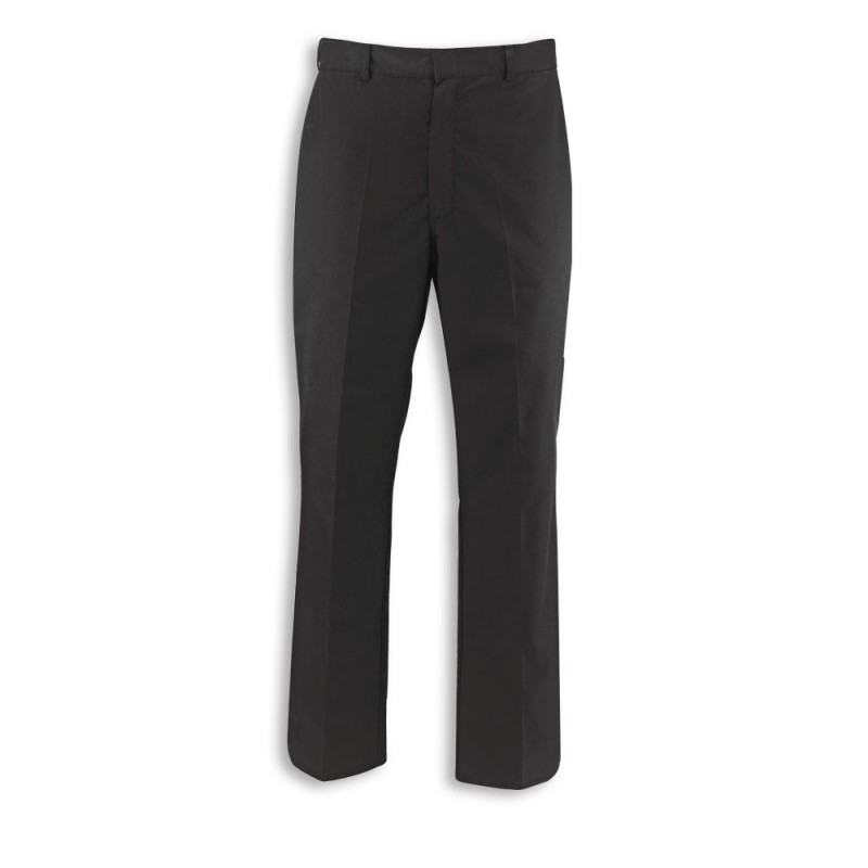 Men's Concealed Elasticated Waist Trousers (Black) NM27