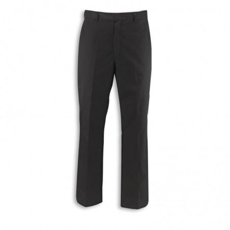 Men's Concealed Elasticated Waist Trousers (Black) NM27