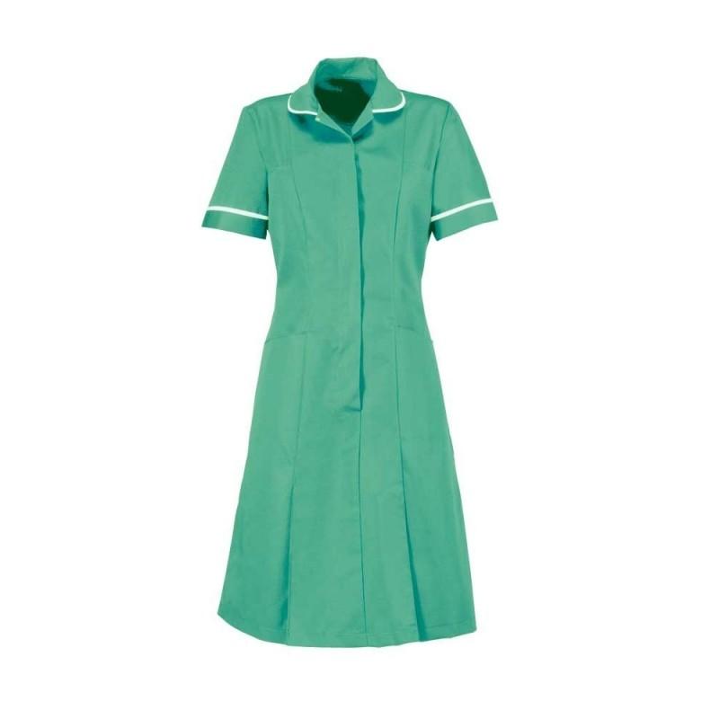 Zip Front Dress (Aqua Marine) - HP297